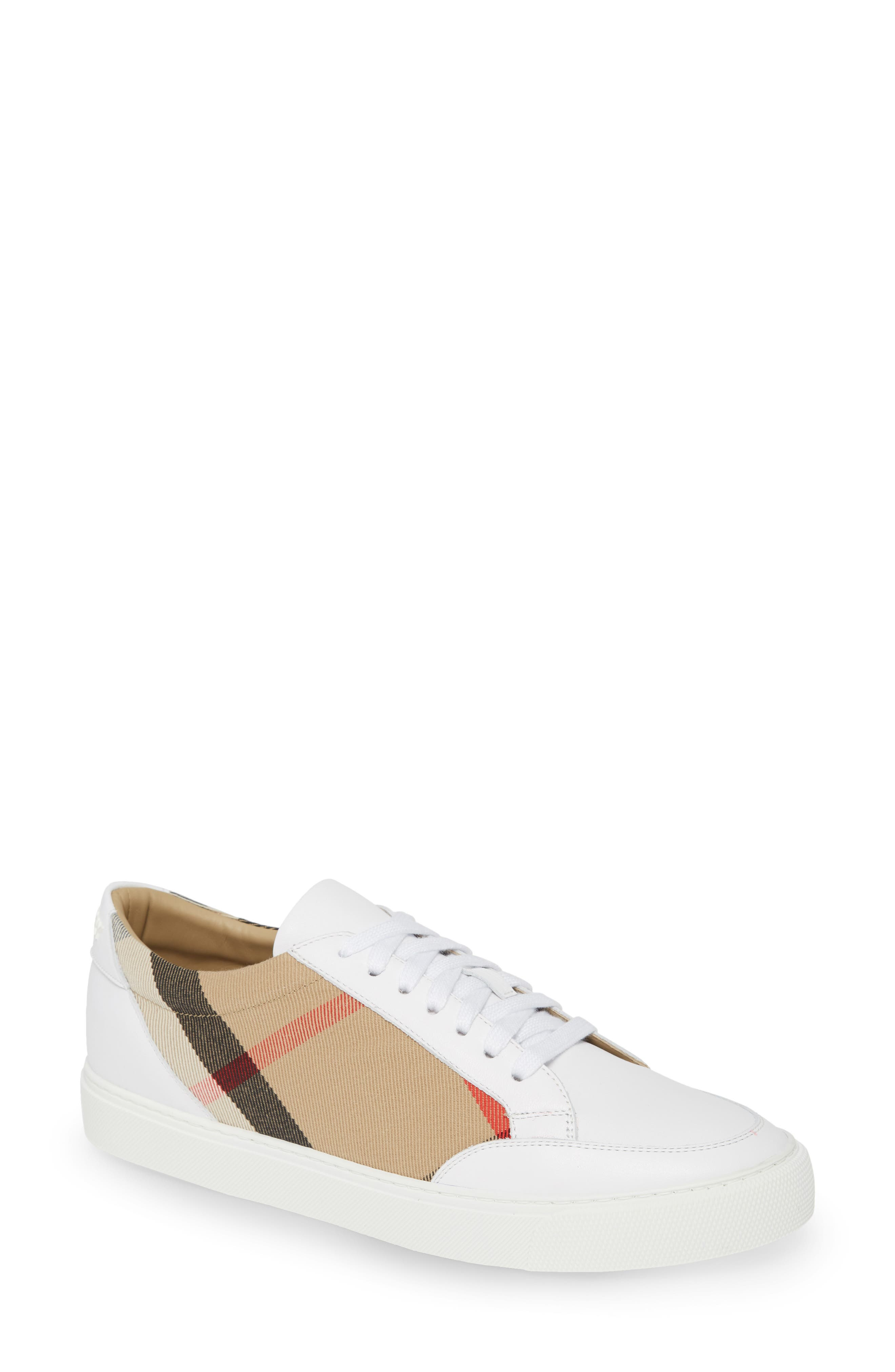 Burberry Salmond Check Low Top Sneaker