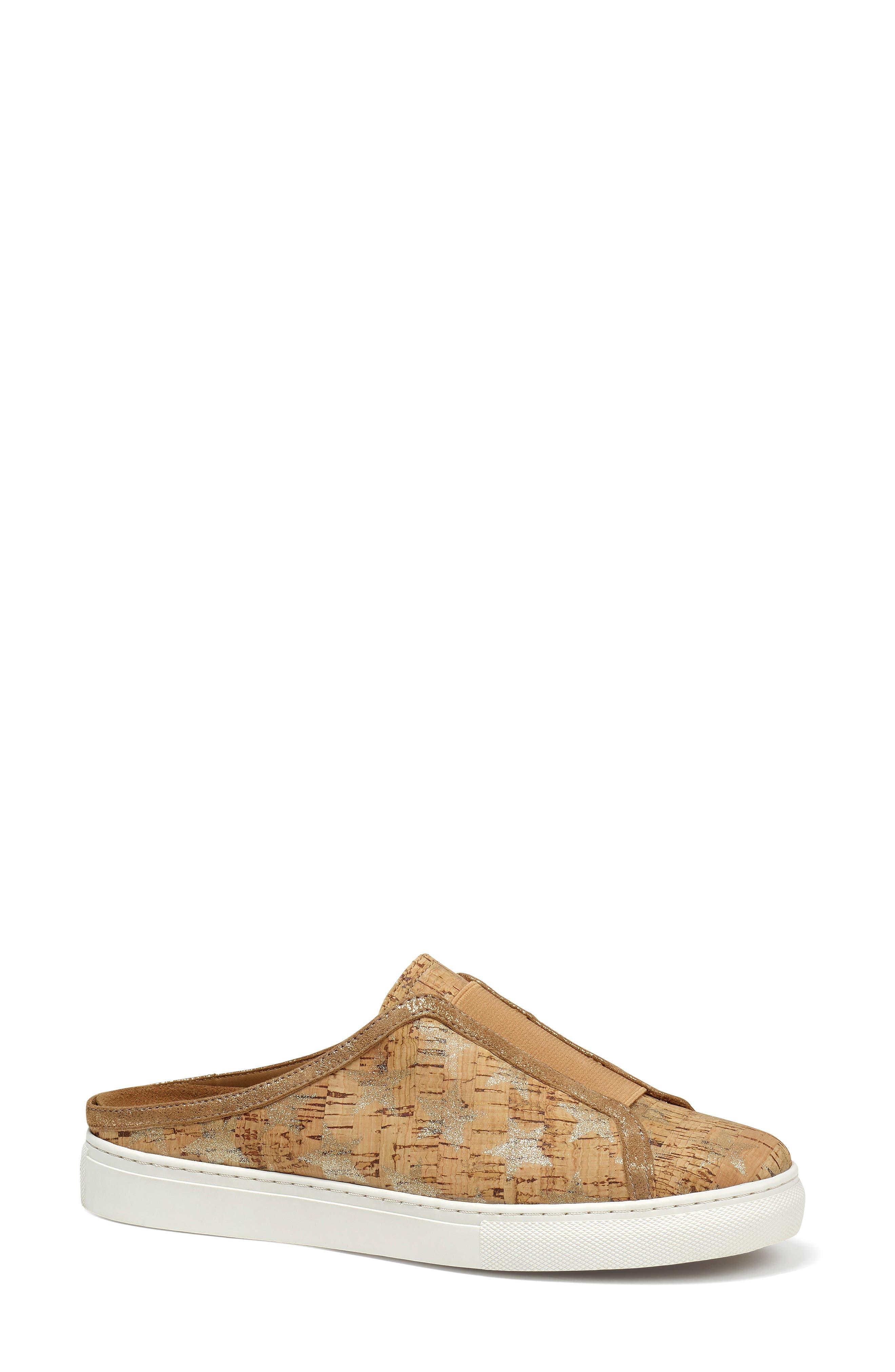Trask Lindy Mule Sneaker, Metallic