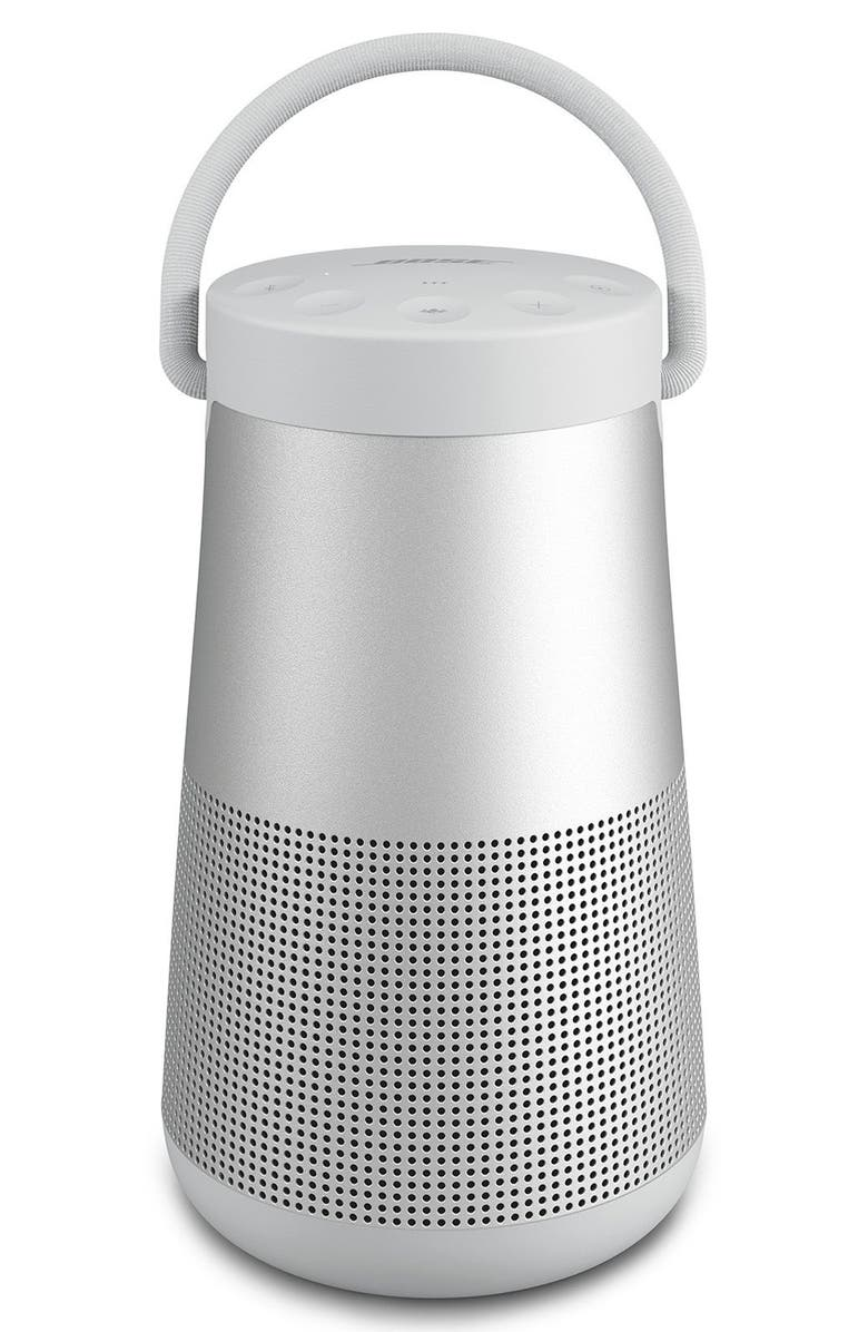 BOSE<SUP>®</SUP> SoundLink<sup>®</sup> Revolve+ Bluetooth<sup>®</sup> Speaker, Main, color, SILVER