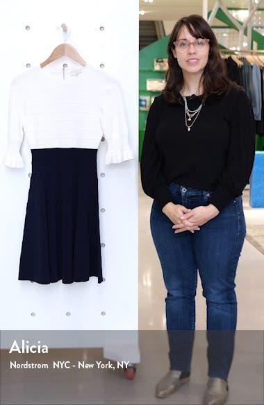 Frill Fit & Flare Dress, sales video thumbnail