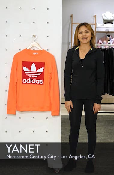 Trefoil Graphic Sweatshirt, sales video thumbnail