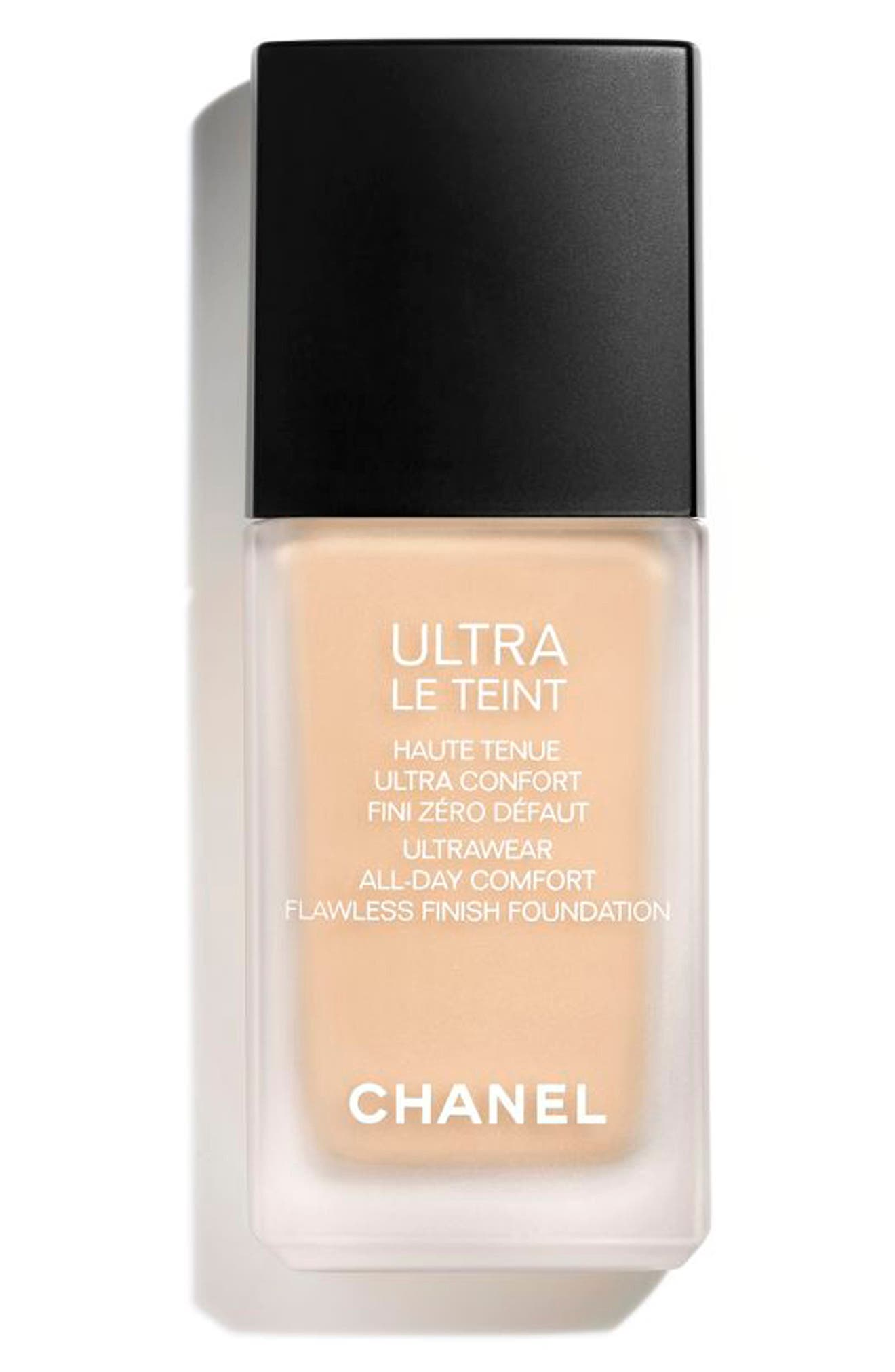 CHANEL ULTRA LE TEINT  Ultrawear All-Day Comfort Flawless Finish Foundation   Nordstrom