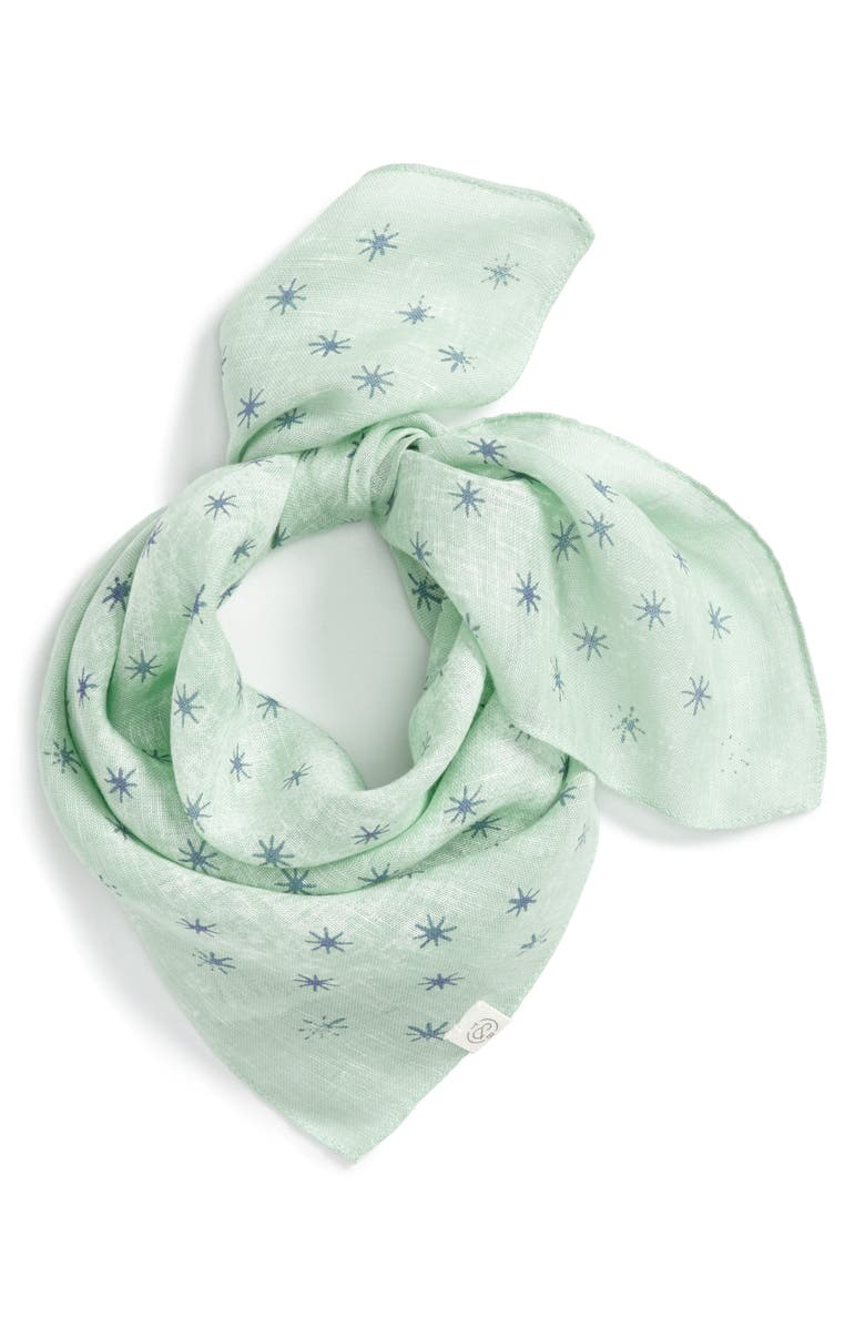 TREASURE & BOND Starry Dusk Bandana, Main, color, 310