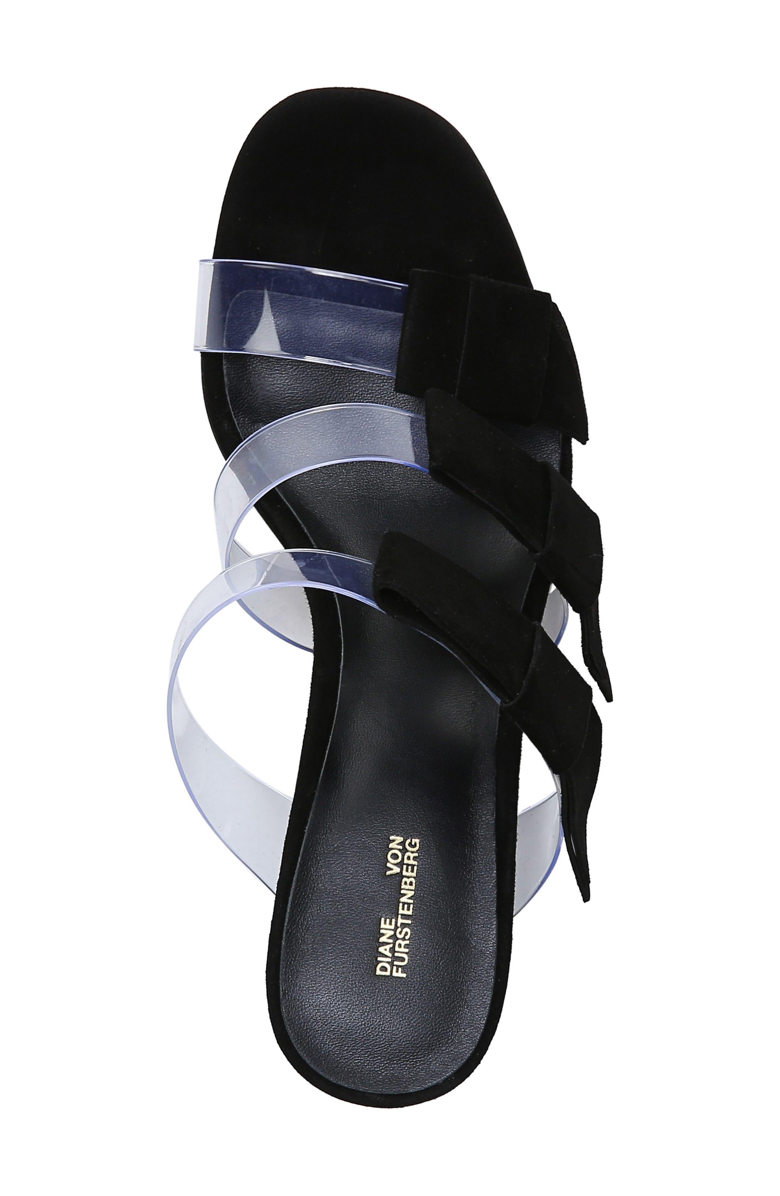 ,                             Amari Triple Strap Sandal,                             Alternate thumbnail 5, color,                             BLACK