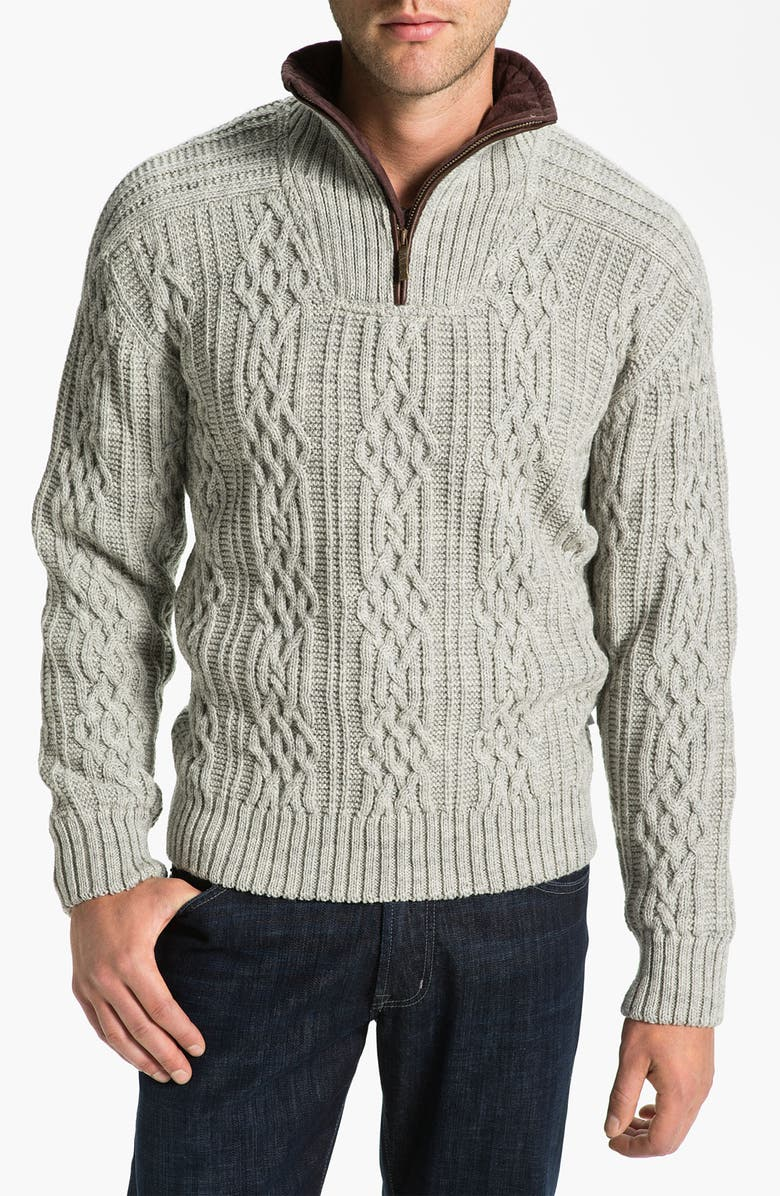 01eac3e37df Dale of Norway 'Henningsvaer' Quarter Zip Wool Sweater | Nordstrom