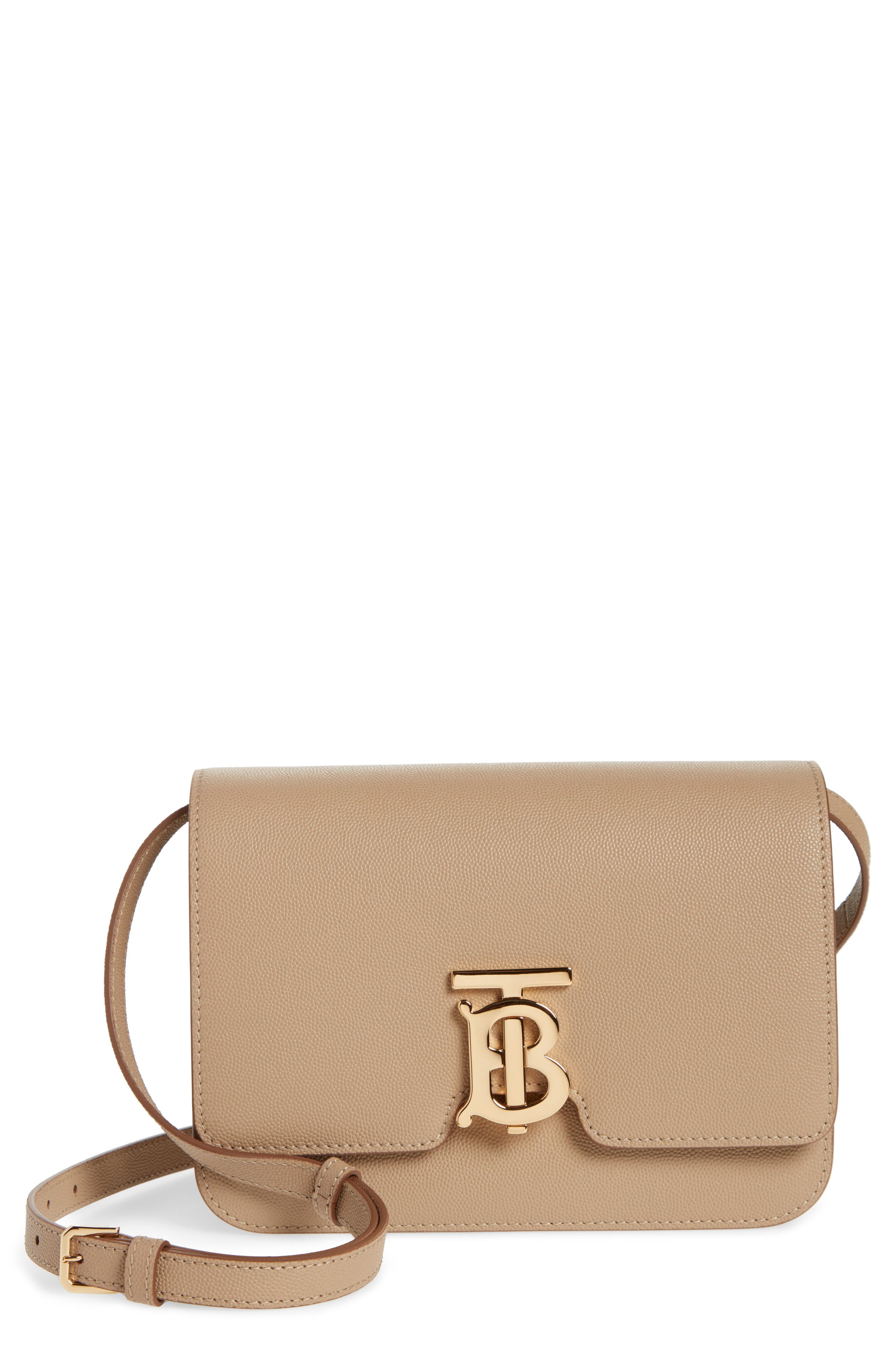 Burberry Small TB Grainy Leather Bag | Nordstrom