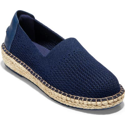 Cole Haan Cloudfeel Stitchlite Espadrille B - Blue