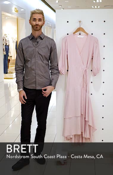 Shawna Wrap Maxi Dress, sales video thumbnail