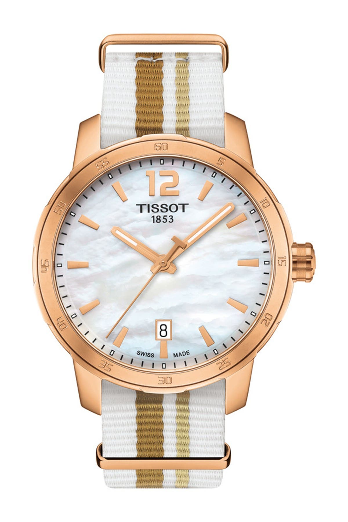 Image of Tissot Unisex Quickster NATO Watch, 40mm