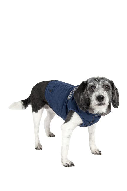 Image of PETKIT Touchdog Waggin Swag Reversible Insulated Pet Coat - Large