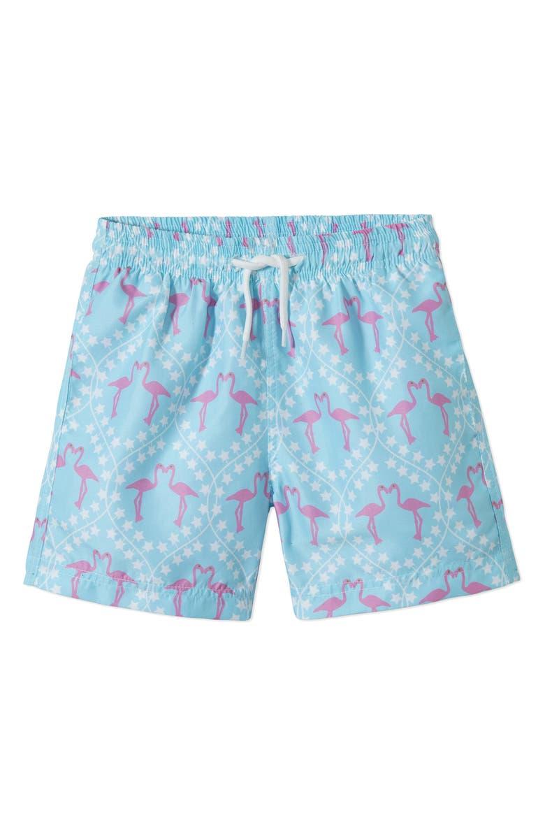 41c1780293 Stella Cove Pink Flamingo Swim Trunks (Toddler Boys & Little Boys ...