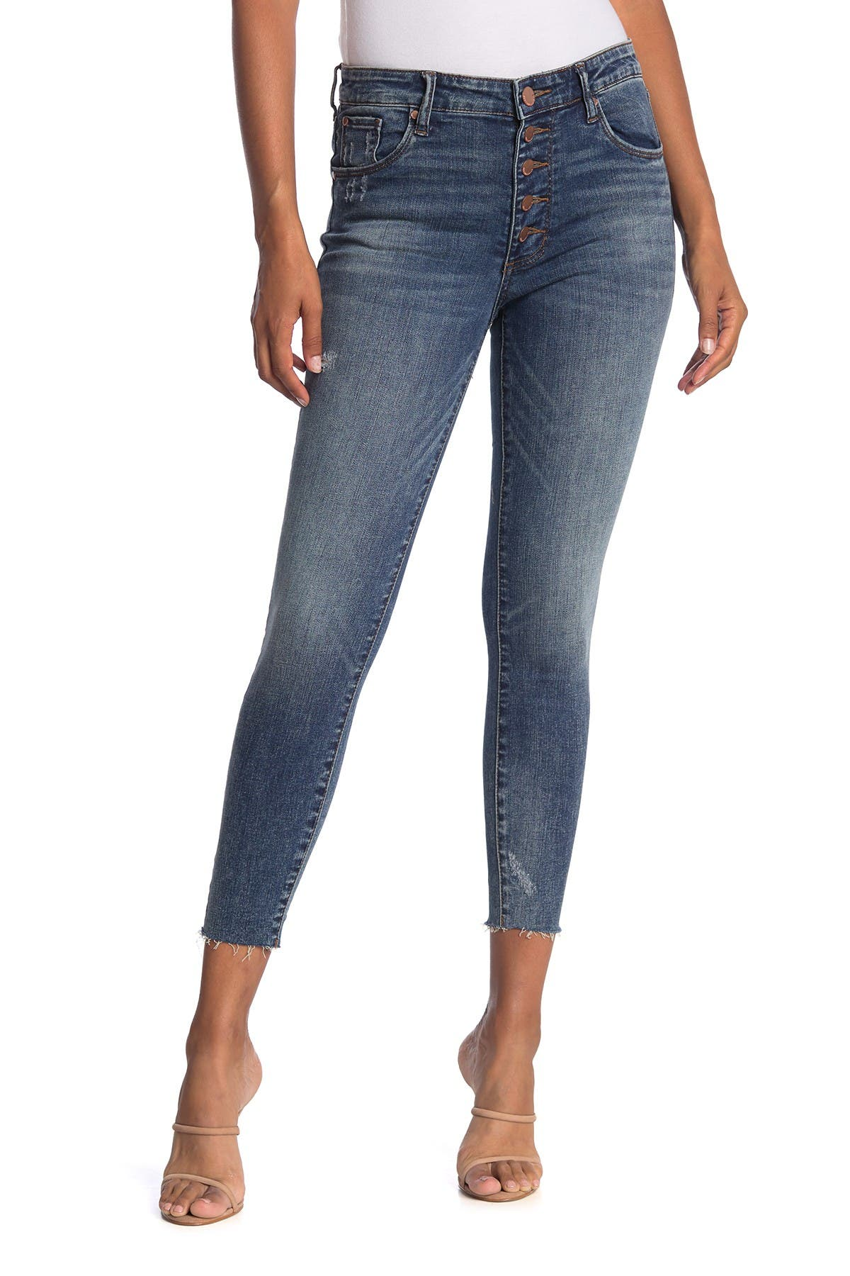 Image of STS BLUE Ellie High Rise Button Fly Jeans