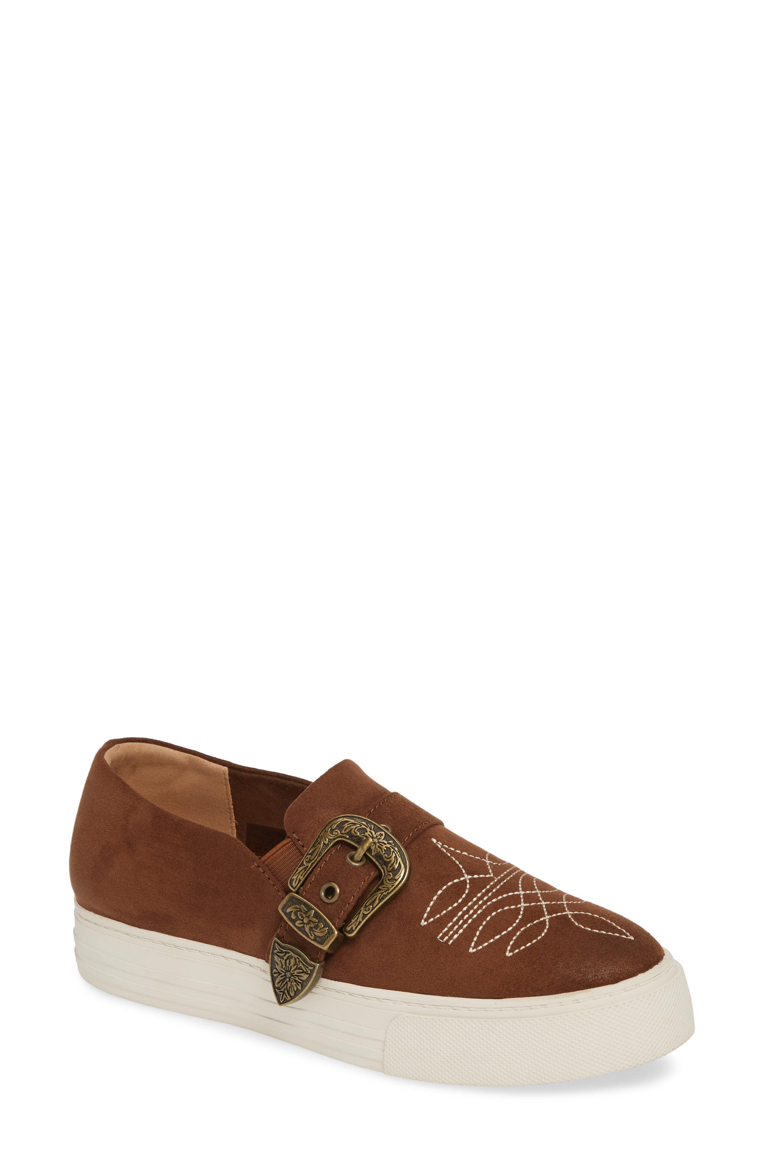 Ariat Willow Platform Sneaker, Brown