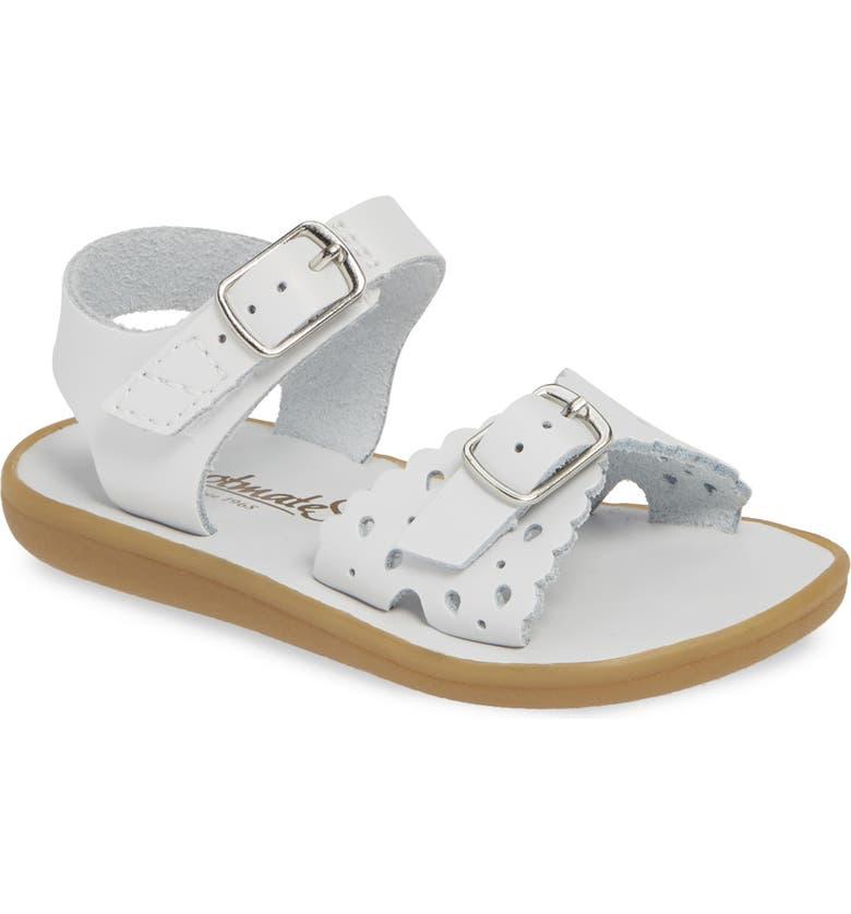 FOOTMATES Arie Waterproof Sandal, Main, color, WHITE
