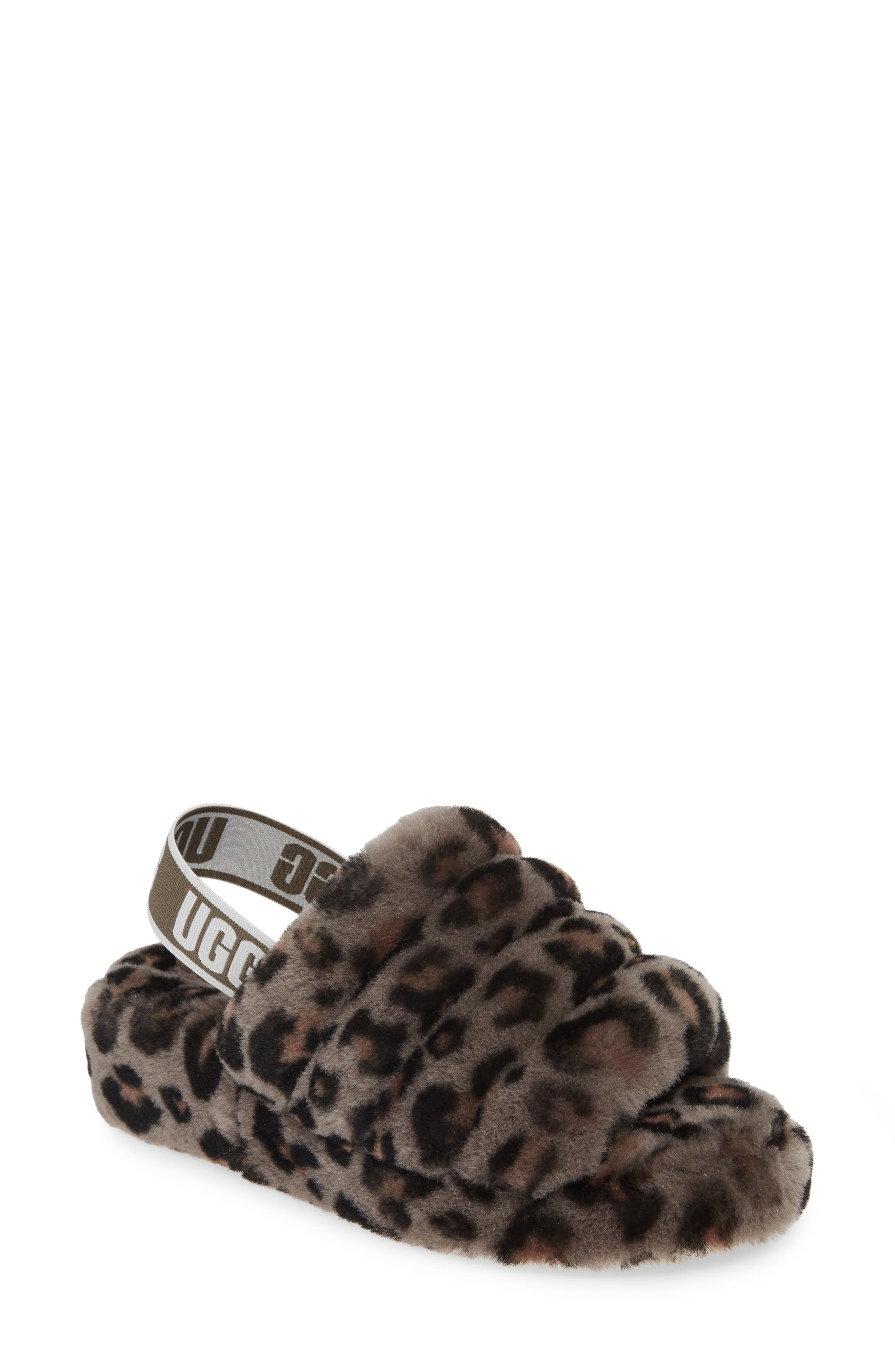 UGG® Fluff Yeah Genuine Shearling Slipper (Women)