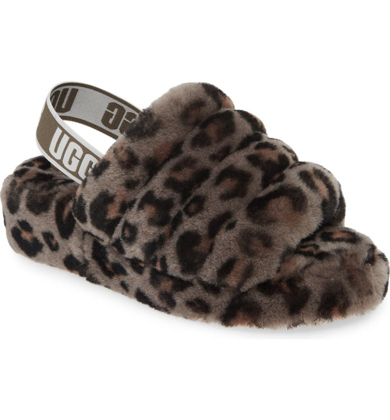 UGG Fluff Yeah Genuine Shearling Slide Slipper Women
