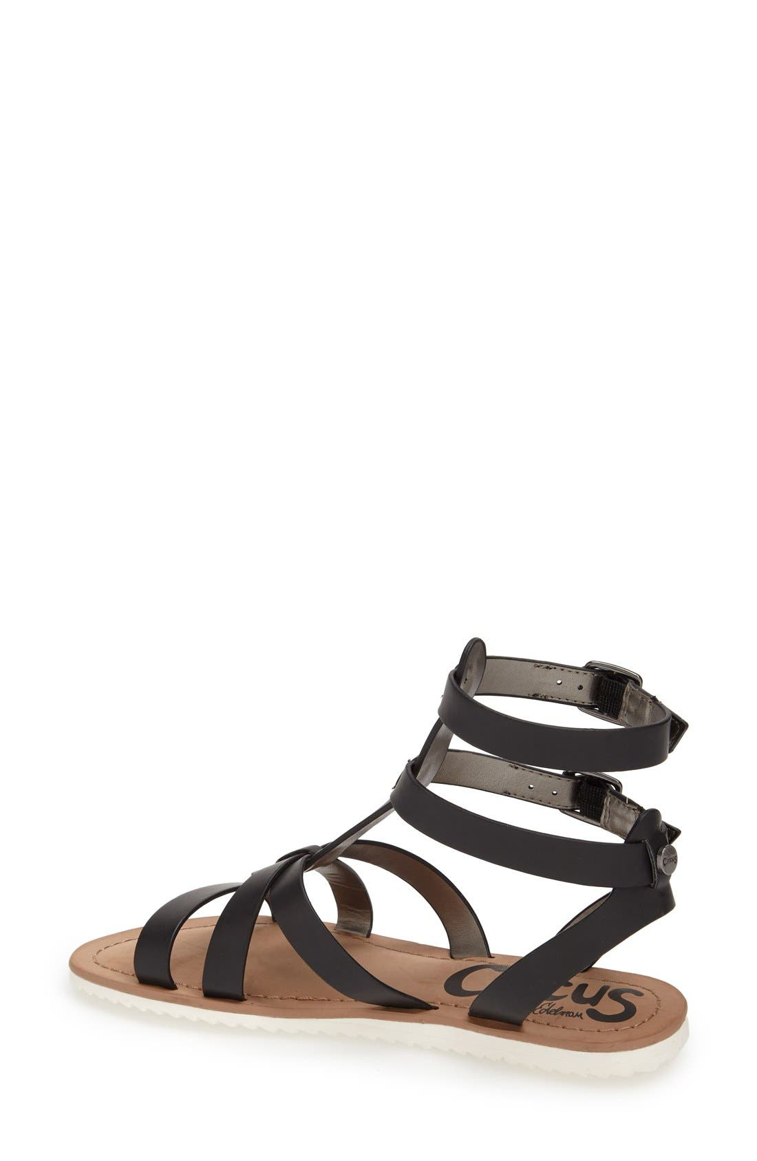 ,                             'Selma' Gladiator Sandal,                             Alternate thumbnail 2, color,                             001