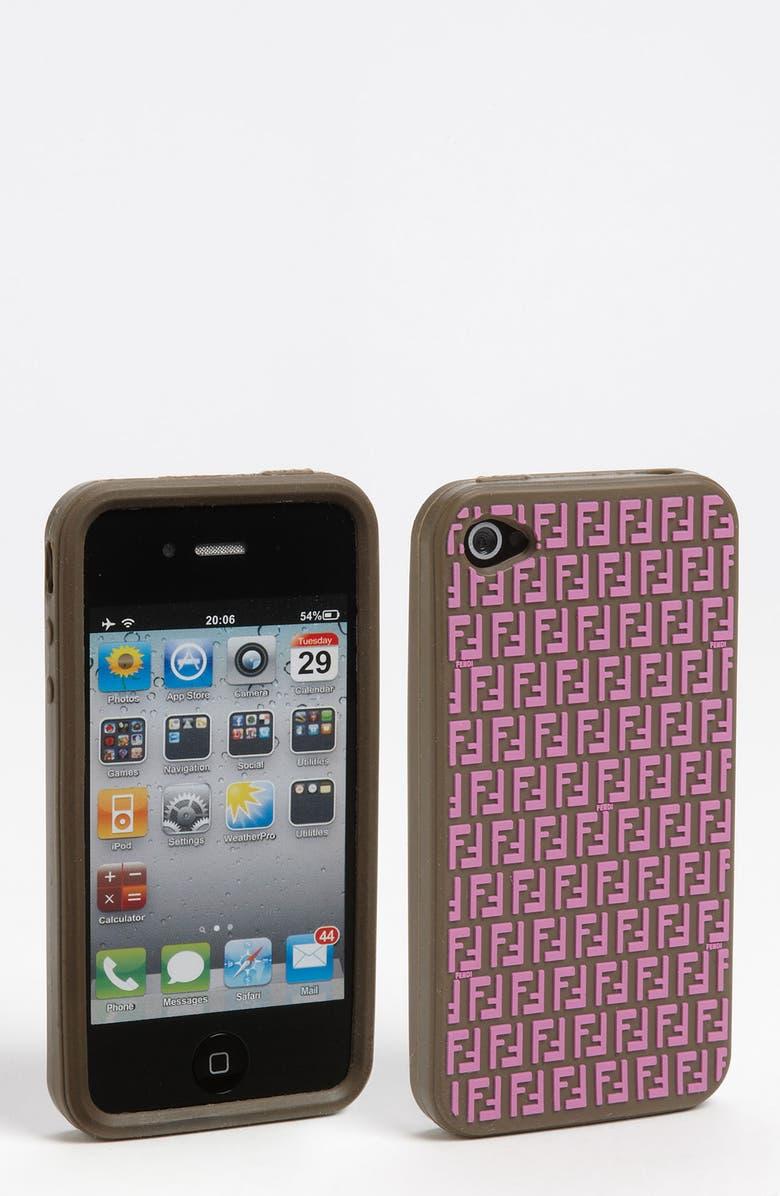 FENDI iPhone 4 & 4S Case, Main, color, 500