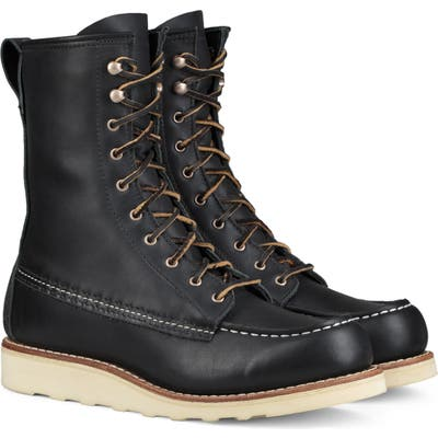Red Wing 8-Inch Moc Boot, Black