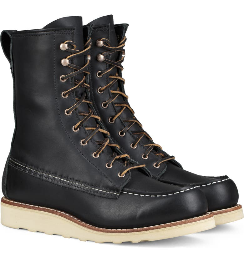RED WING 8-Inch Moc Boot, Main, color, 001