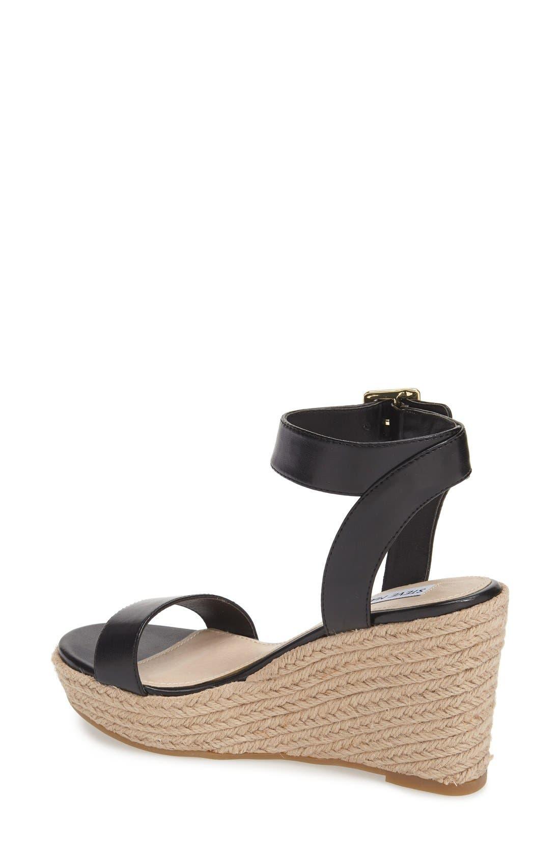 ,                             'Seaside' Wedge Sandal,                             Alternate thumbnail 2, color,                             002