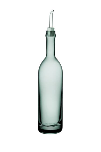 Image of Nude Glass Extra Olive Oil Bottle - Green