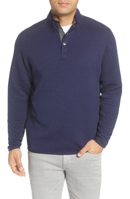 Image of Tommy Bahama Quilt To Last Fleece Pullover