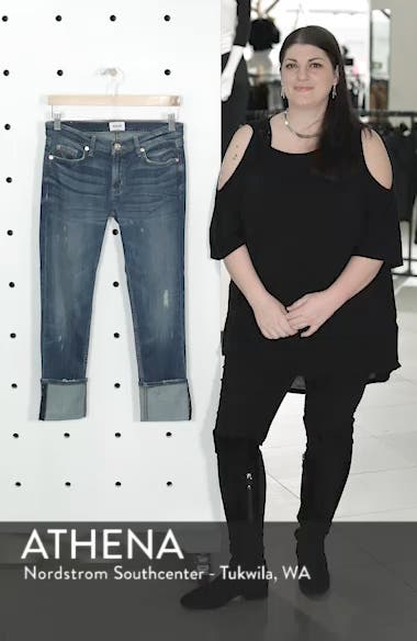 'Muse' Cuff Crop Jeans, sales video thumbnail
