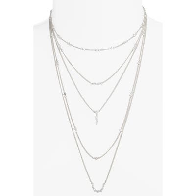 Sterling Silver Faye Layered Necklace