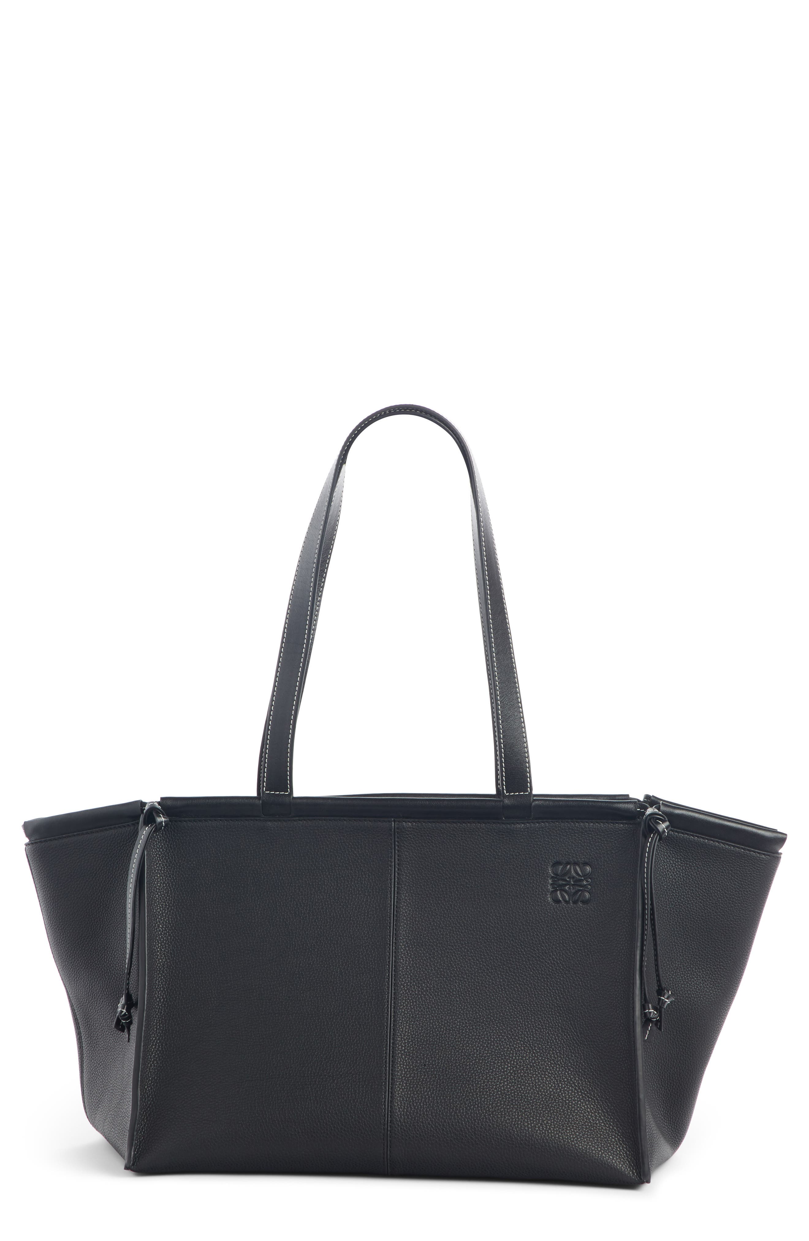 Loewe Cushion Leather Convertible Gusset Tote | Nordstrom