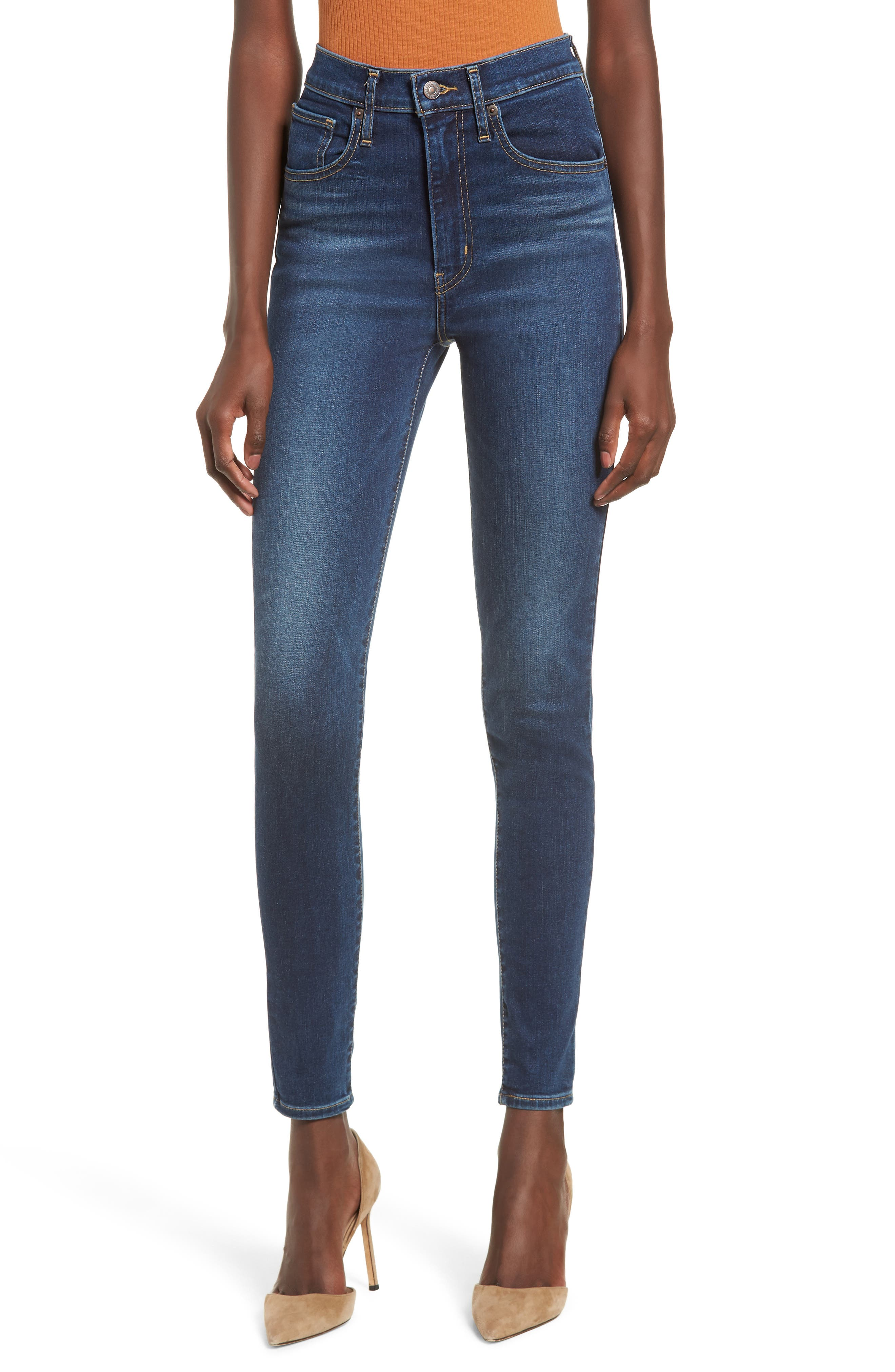 Mile High Super Skinny Jeans, Main, color, 420