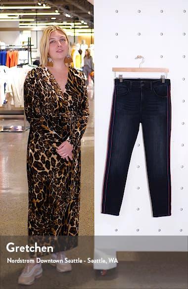 Tess Side Stripe Skinny Jeans, sales video thumbnail