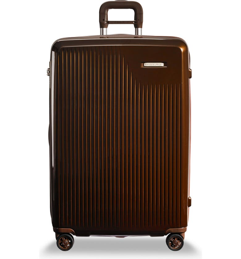 BRIGGS & RILEY Sympatico 30-Inch Expandable Wheeled Packing Case, Main, color, BRONZE