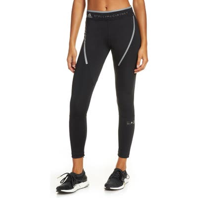 Adidas By Stella Mccartney Run Long Zip Cuff Tights