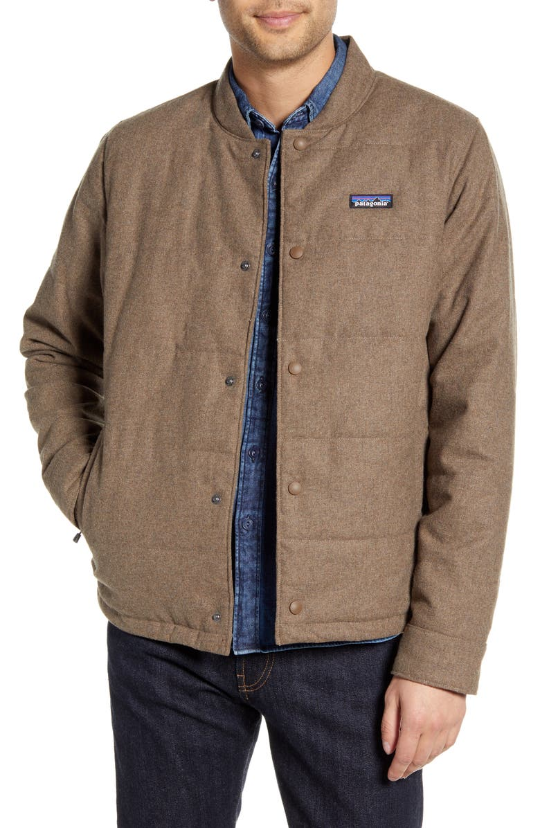 PATAGONIA Recycled Woolyester Bomber Jacket, Main, color, 200