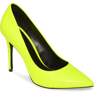 Michael Michael Kors Claire Pointy Toe Pump, Yellow