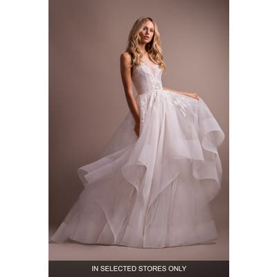 Hayley Paige Lilith Halter Open Back Wedding Dress
