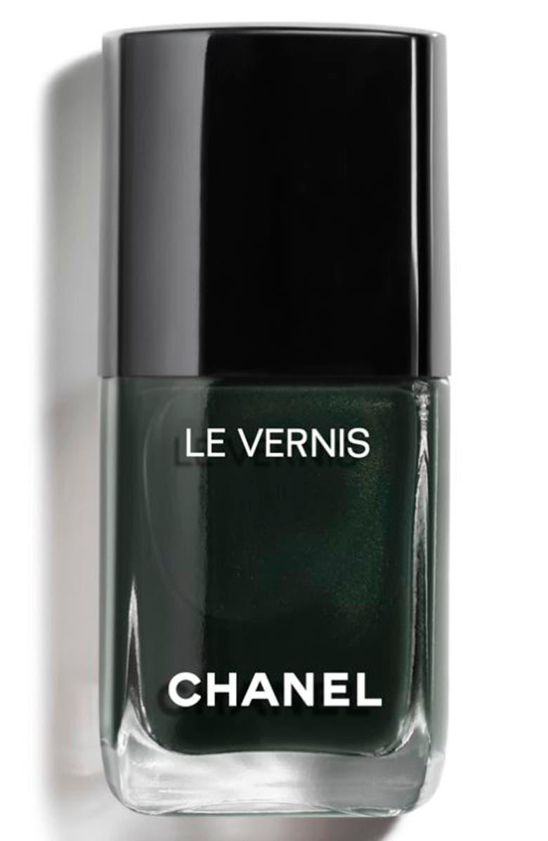 CHANEL LE VERNIS <br />Longwear Nail Colour, Main, color, 715 DEEPNESS