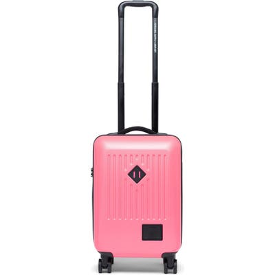 Herschel Supply Co. Trade Neon 21-Inch Rolling Carry-On - Pink
