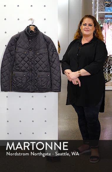 International Windshield Quilted Jacket, sales video thumbnail