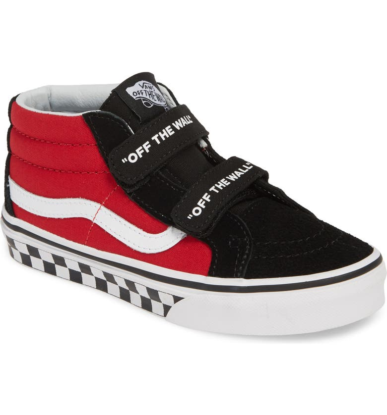 VANS Sk8-Mid Reissue V Sneaker, Main, color, 010