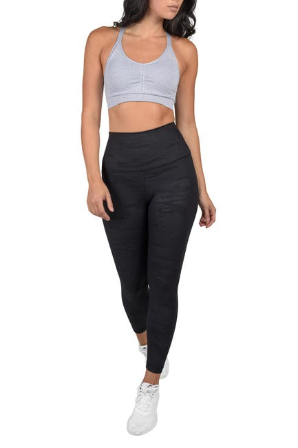 Image of 90 Degree By Reflex Lux Camo Super High Waist Ankle Leggings
