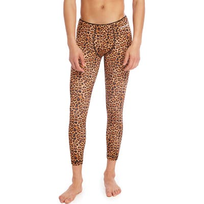 2(X)Ist Sliq Performance Leggings, Brown