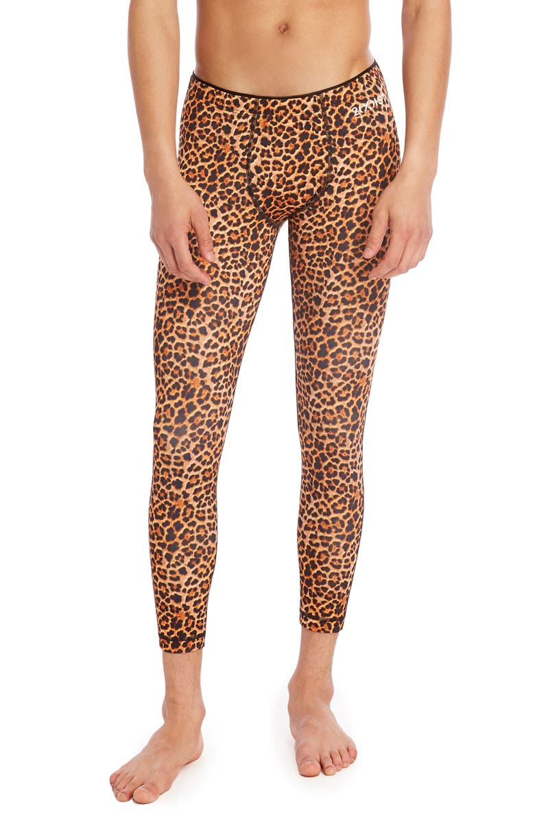 2(X)IST Sliq Performance Leggings, Main, color, CHEETAH