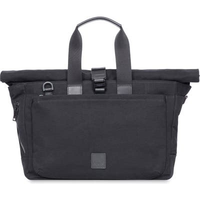 Knomo London Fulham Sullivan Rolltop Tote Bag - Black