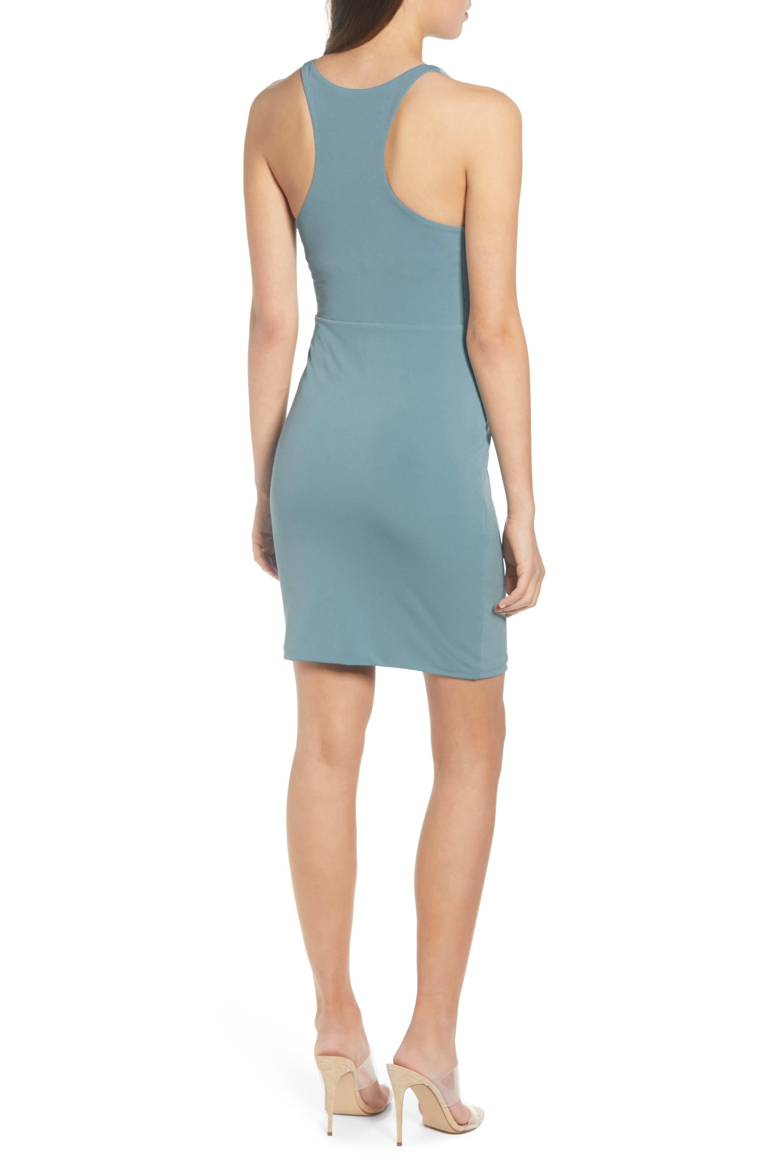 ,                             Racerback Body-Con Dress,                             Alternate thumbnail 33, color,                             450