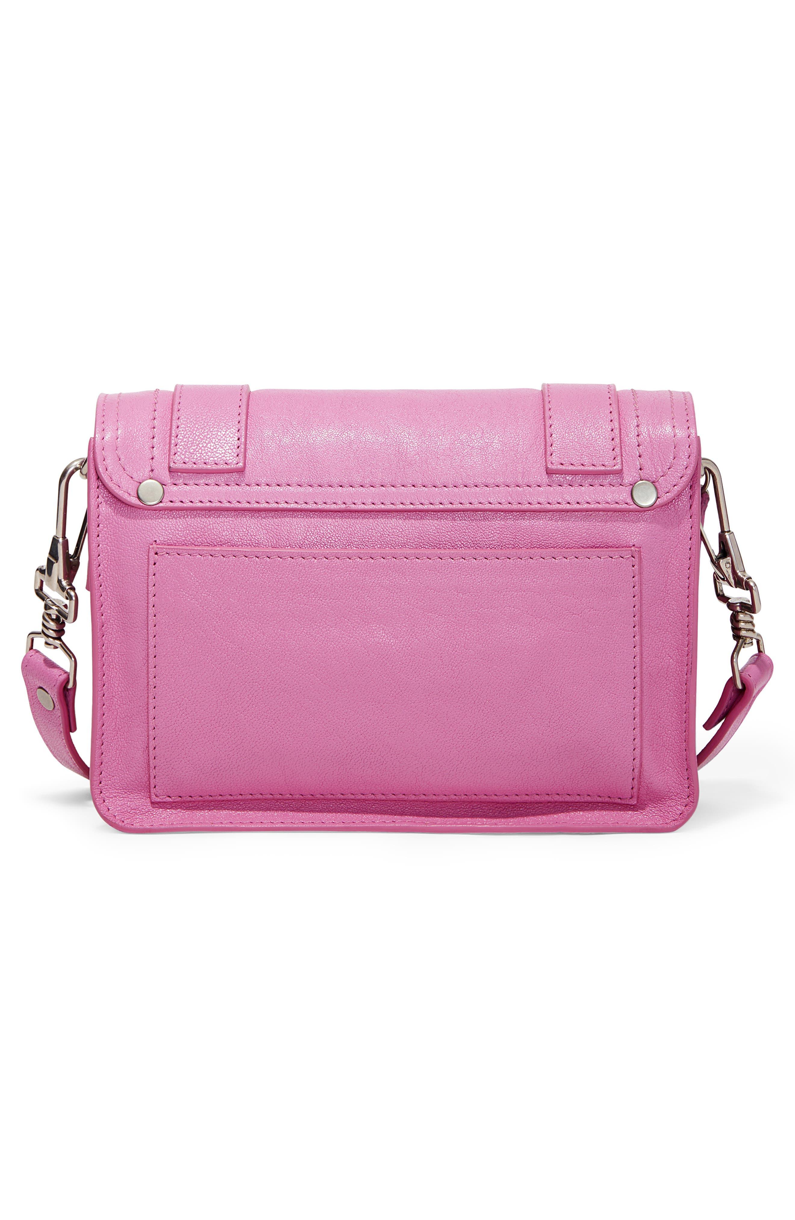 ,                             'Mini PS1' Lambskin Leather Crossbody Bag,                             Alternate thumbnail 8, color,                             652