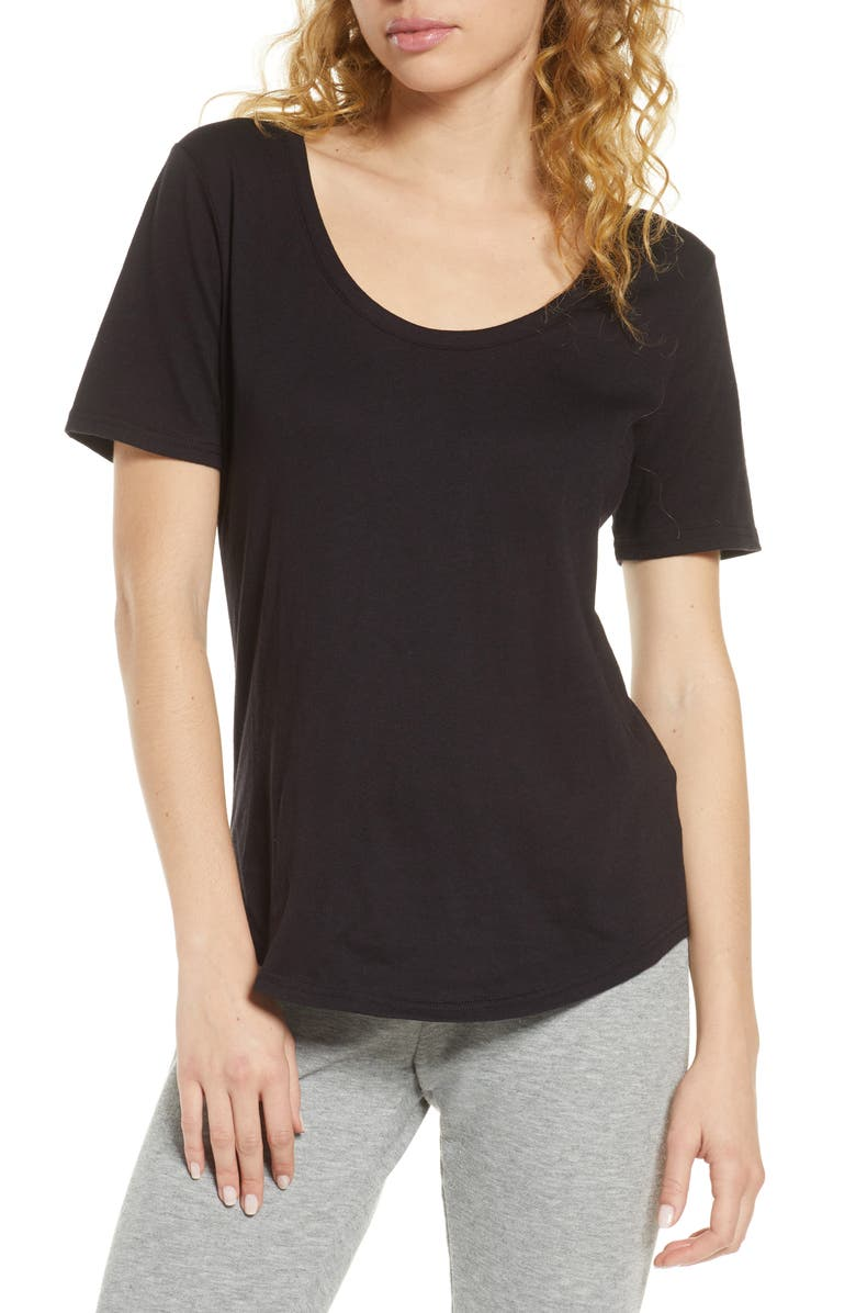 BP. All Day Tee, Main, color, BLACK