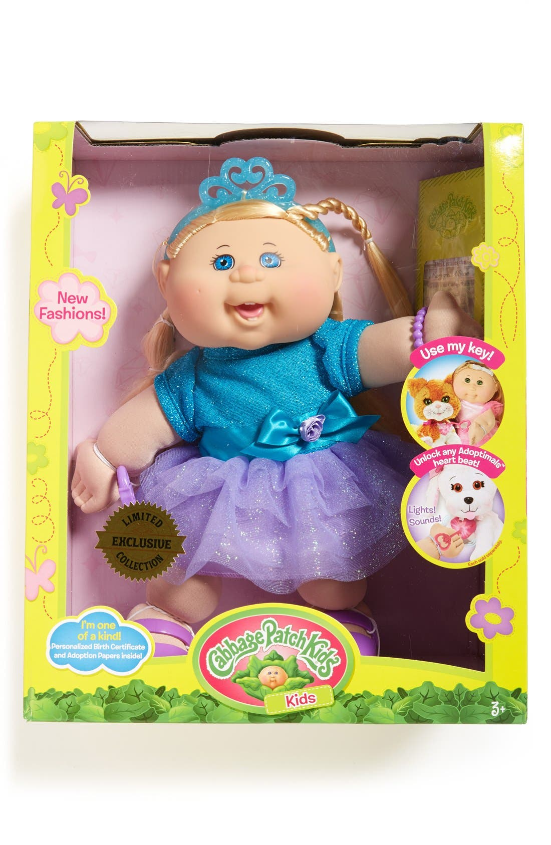 ,                             Soft Sculpted Cabbage Patch Doll,                             Main thumbnail 17, color,                             460