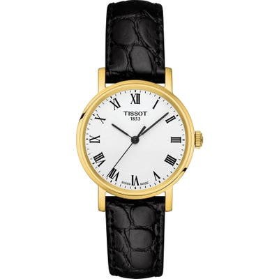 Tissot Everytime Leather Strap Watch, 30Mm